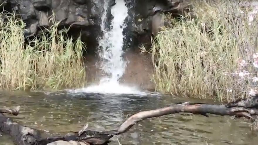 Cascada en Gran Canaria