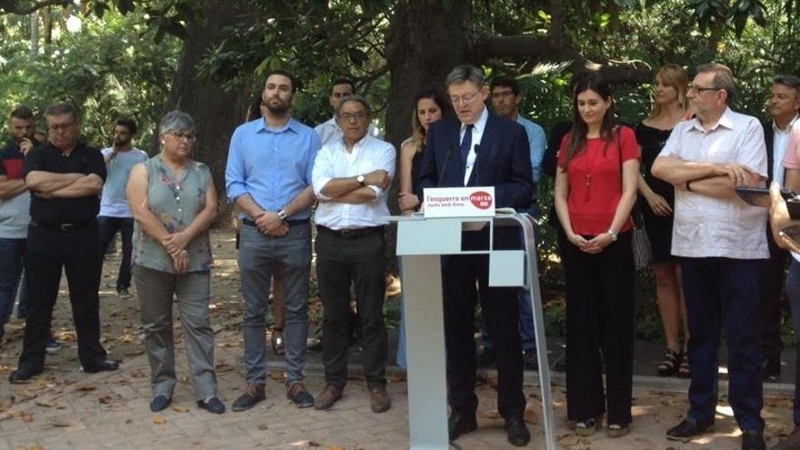 """Puig anuncia su candidatura para liderar un PSPV """"fuerte y unido"""" y no ve motivos suficientes para una alternativa"""
