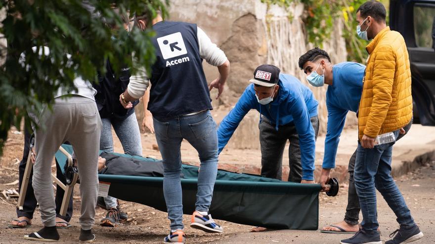 Ocho detenidos durante unos incidentes en un campamento de inmigrantes en Tenerife