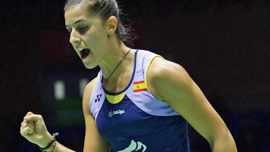 Carolina Marín está de vuelta: Gana el Open de China en tres sets