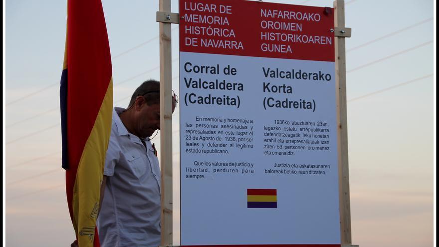El homenaje en Valcaldera se celebró por primera vez en 2014 / Foto: Hedy Herrero / affna36.