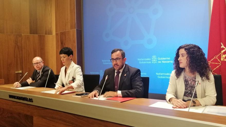 El Gobierno de Navarra destinará 72 millones de euros a abonar en la nómina de noviembre el complemento de grado
