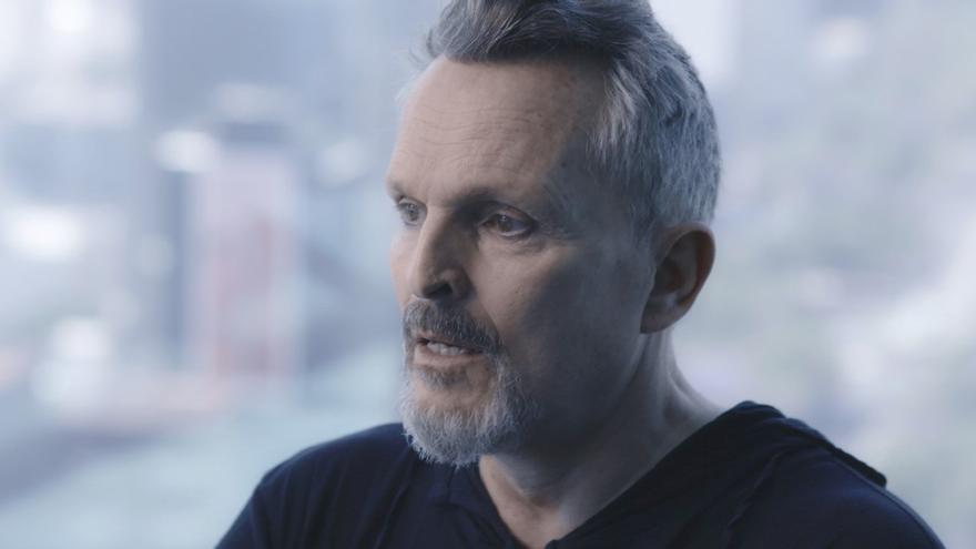Fotograma de la entrevista de Jordi Évole a Miguel Bosé en 'Lo de Évole'.