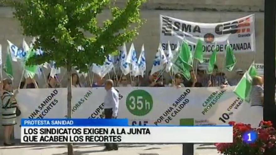 protestas junta