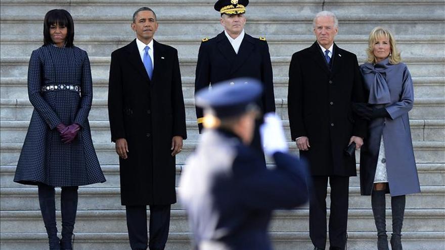 Júbilo en Harlem por la nueva investidura de Obama