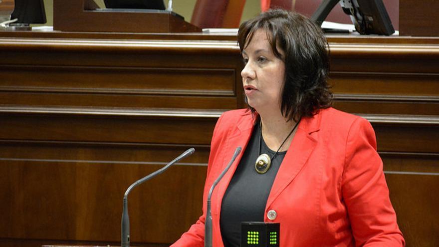 La consejera de Educación del Gobierno de Canarias, Soledad Monzón