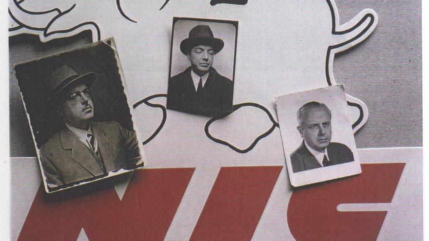 Los tres hermanos Nicolau: Josep María, Tomás y Ramón Nicolau