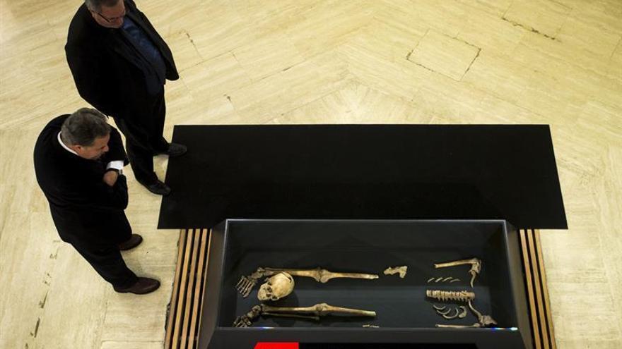"""La exposición """"Huesos"""" descubre los secretos de los restos humanos medievales"""