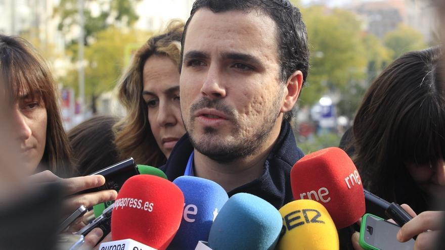 """Garzón (IU) dice que los """"aparatos del Estado maniobran para que la Infanta se vaya de rositas"""""""