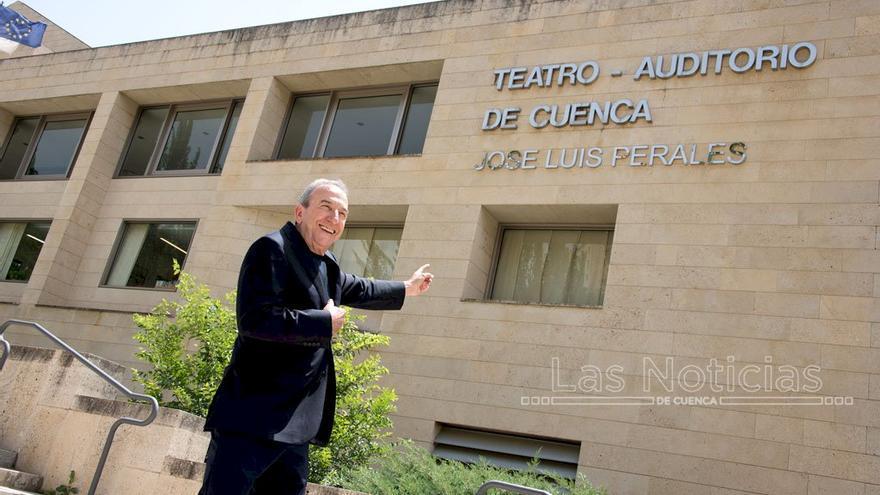 José Luis Perales, el nuevo nombre del Teatro Auditorio de Cuenca