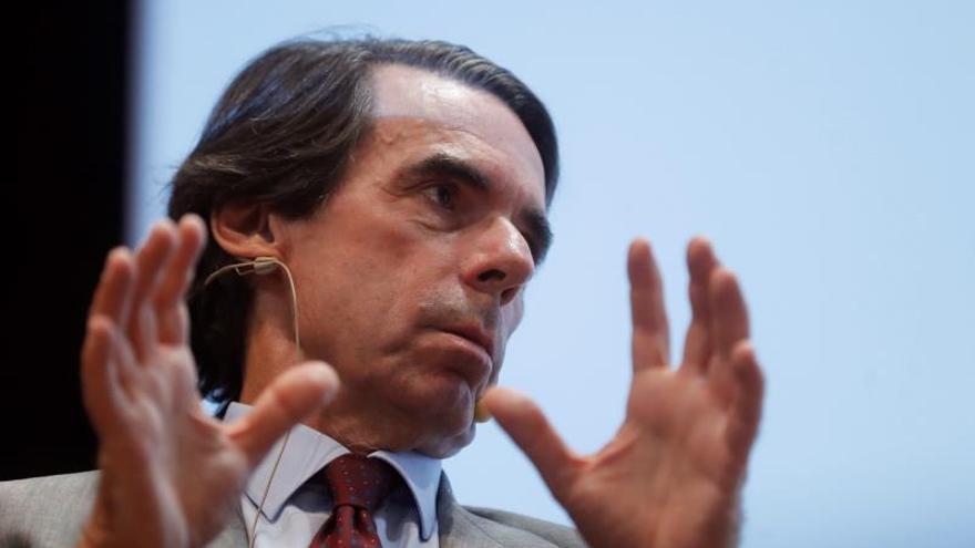 José María Aznar, presidente de Faes.