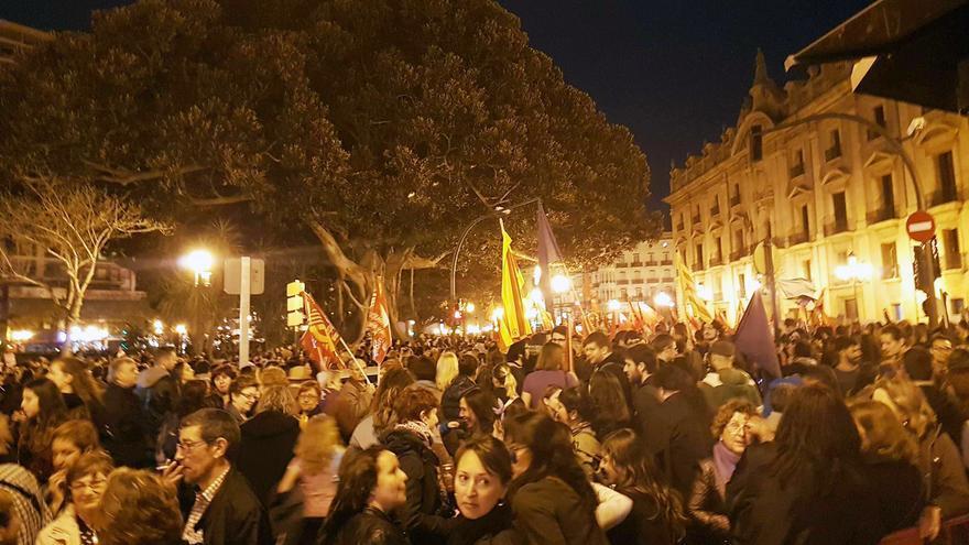 Miles de personas se han manifestado en Valencia con motivo del 8 de Marzo