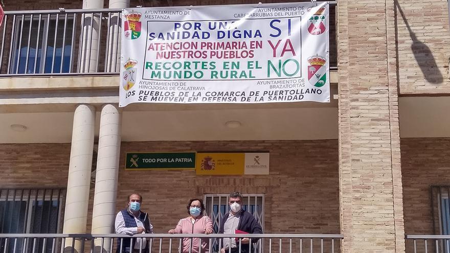 """Cuatro municipios de Ciudad Real reclaman """"atención médica de calidad"""" y apelan a lo que dice la recién aprobada Ley de Despoblación"""