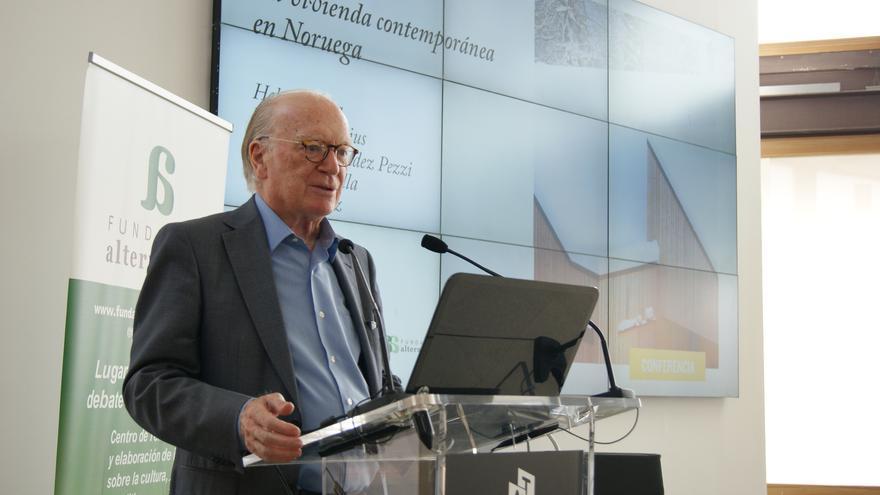 Nicolás Sartorius, durante un acto de la Fundación Alternativas