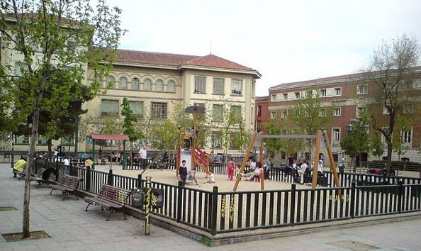 Los Jardines del Arquitecto Ribera tal y como eran en 2009 | Foto: Salvad el Cole