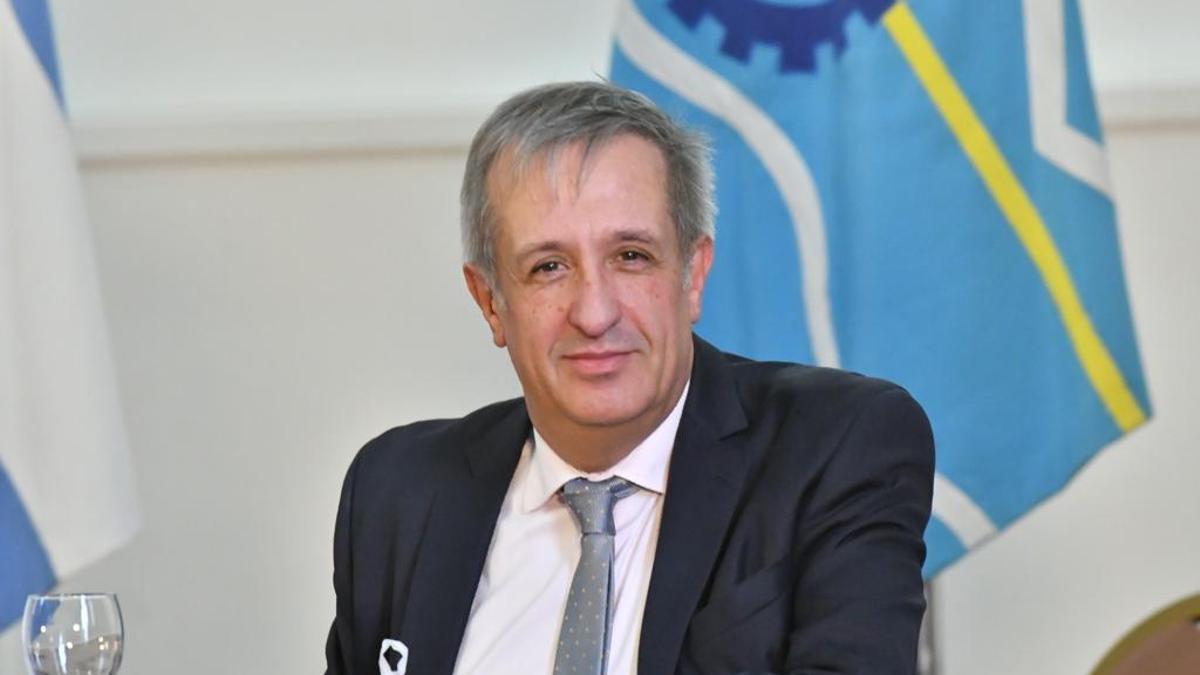 Oscar Antonena, ministro de Economía de Chubut