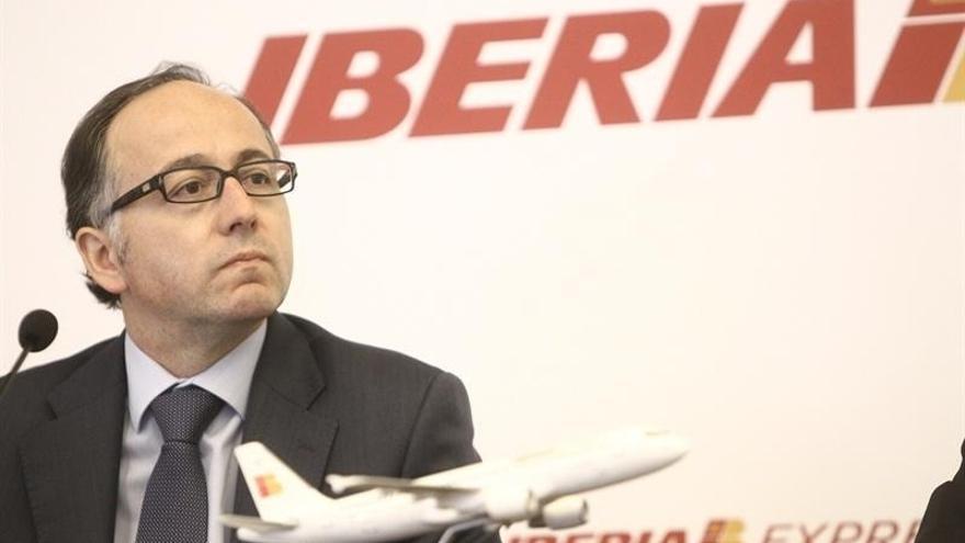 """Gallego (Iberia): """"Cerrar una pista en Barajas sería un desastre"""""""