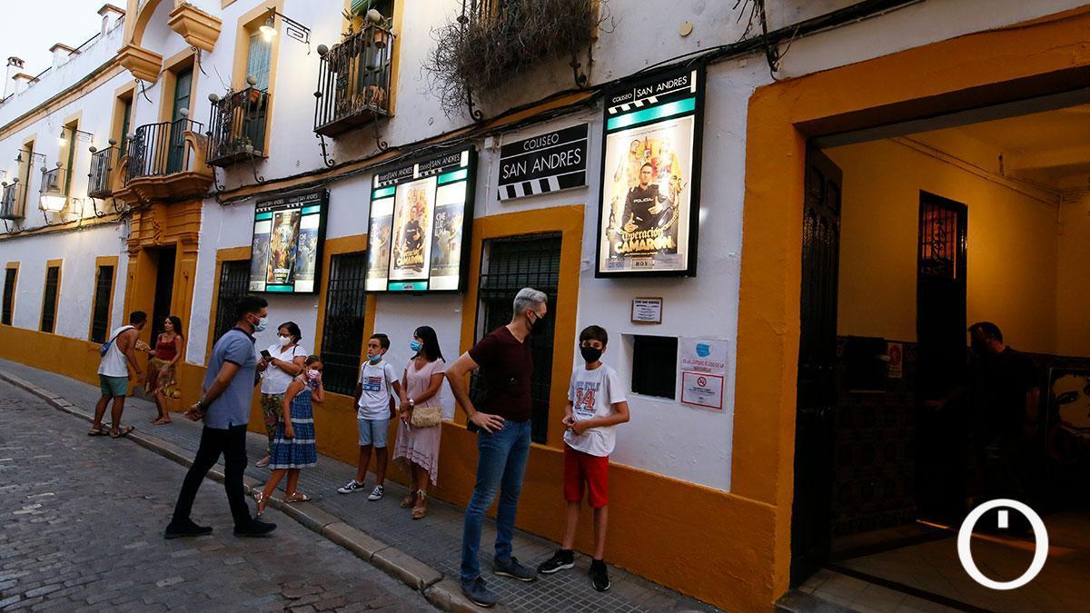 Cine de verano Coliseo San Andrés