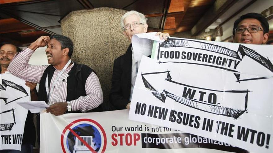 La falta de acuerdo en agricultura retrasa la declaración final de la OMC