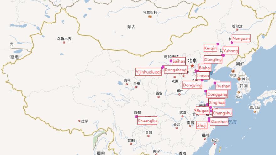 Ciudades De China Mapa.El Big Data Desvela Los Secretos De Las Ciudades Fantasma De