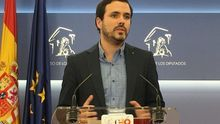 """Garzón insiste en que no ir en coalición con Podemos y otros en 2019 sería un """"grave error"""" y anuncia """"novedades"""" pronto"""