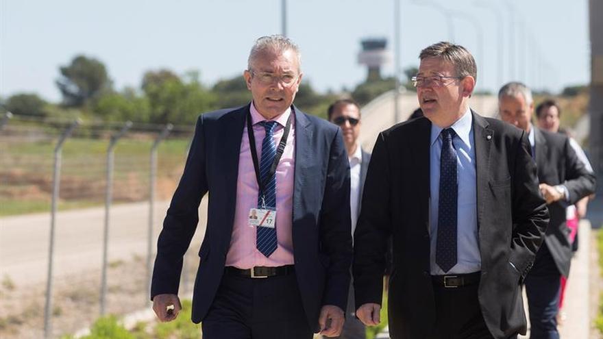 Aerocas gestionará directamente el aeropuerto de Castellón a finales de 2019