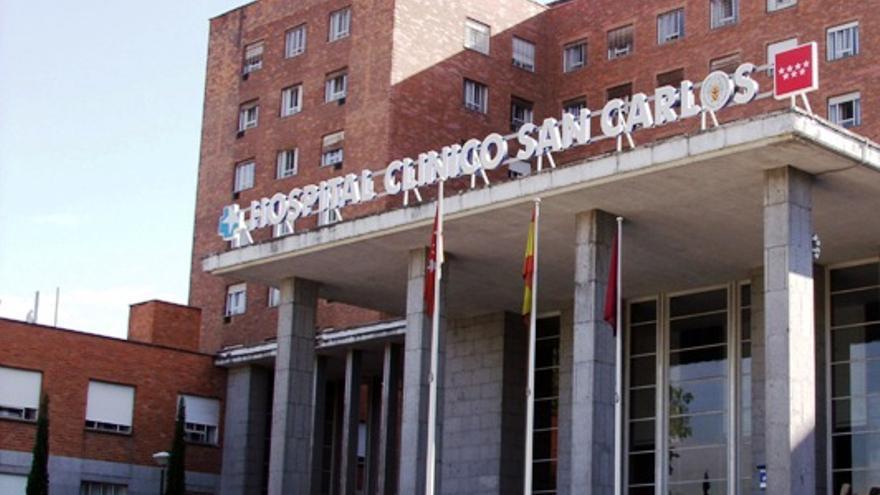 Fachada del hospital Clínico San Carlos de Madrid. / Madrid.org
