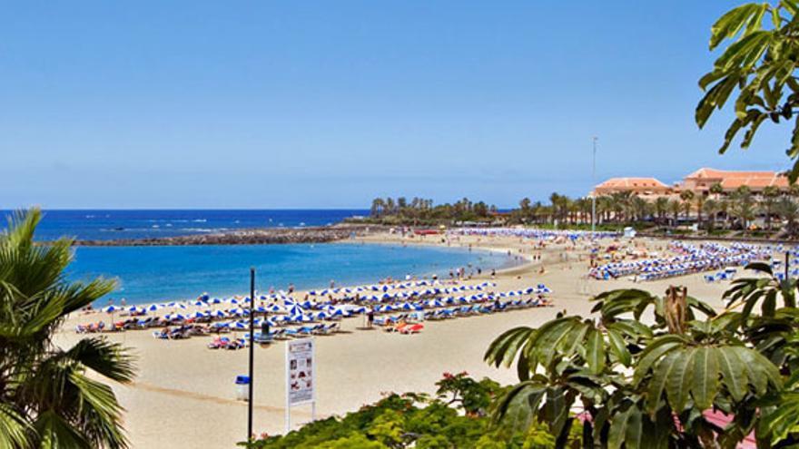 Playa de Las Vistas, en Arona