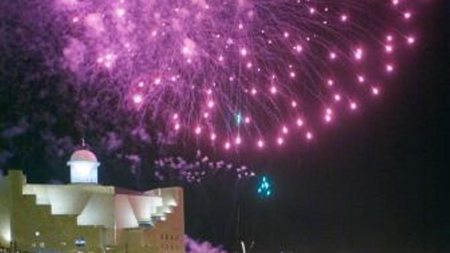Imagen de archivo de las celebraciones de San Juan en LPGC. (EUROPA PRESS)