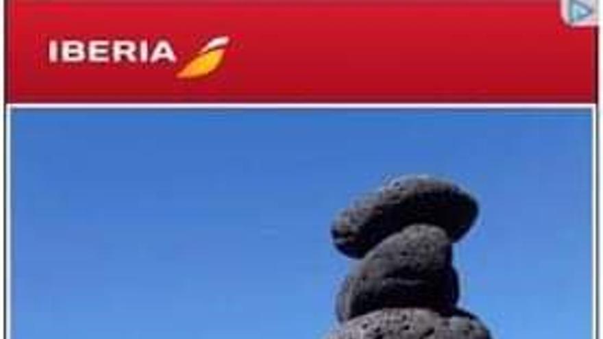 Imagen del anuncio de Iberia.