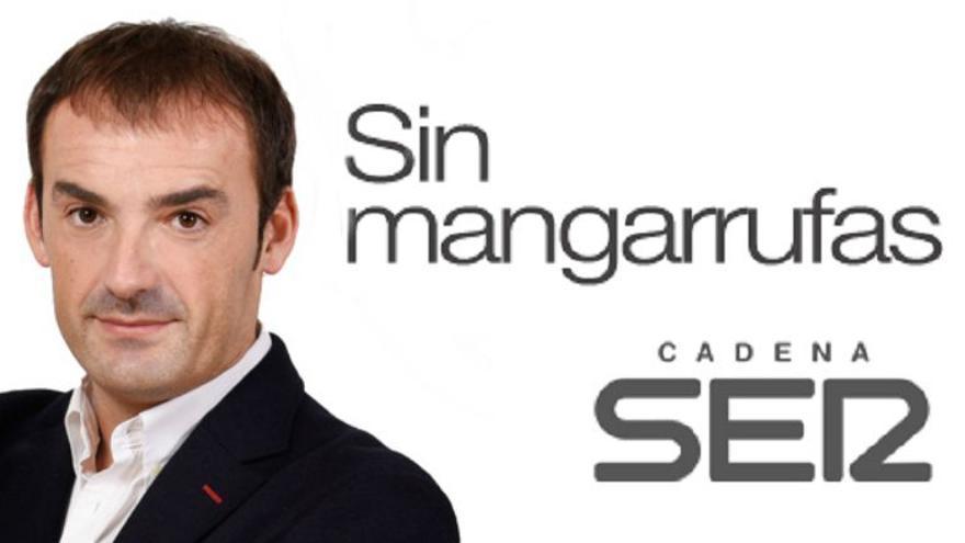 El responsable de Deportes de la Cadena Ser en Valencia, Pedro Morata