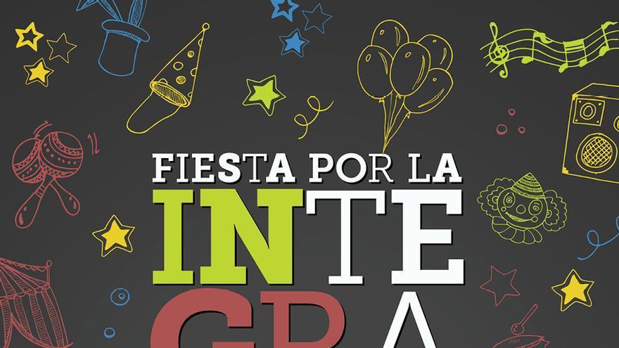 Cartel de la XIX Fiesta por la Integración de la Fundación DFA.