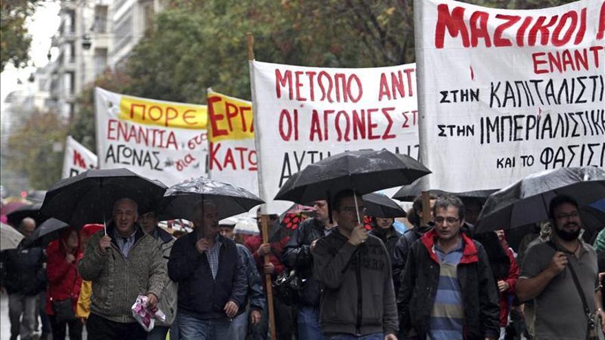 Grecia vive hoy la primera huelga bajo el Gobierno de Alexis Tsipras