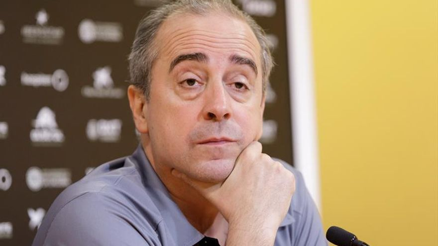 Txus Vidorreta, entrenador del Iberostar Tenerife.