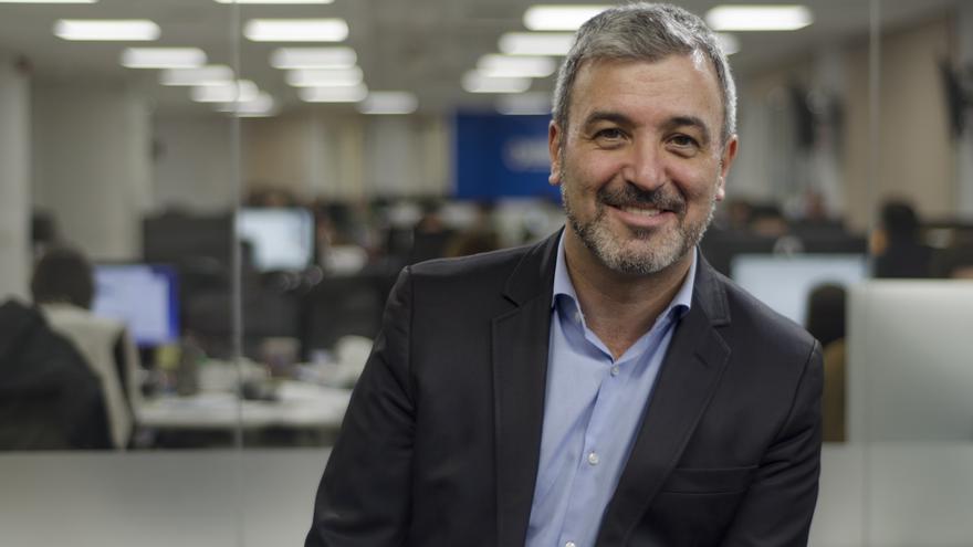Jaume Collboni, presidente del Grupo Socialista en el Ayuntamiento de Barcelona \ Foto: Alejandro Navarro Bustamante
