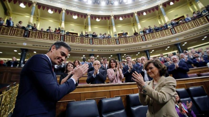 El CIS aumenta la ventaja de los partidos que apoyaron la investidura