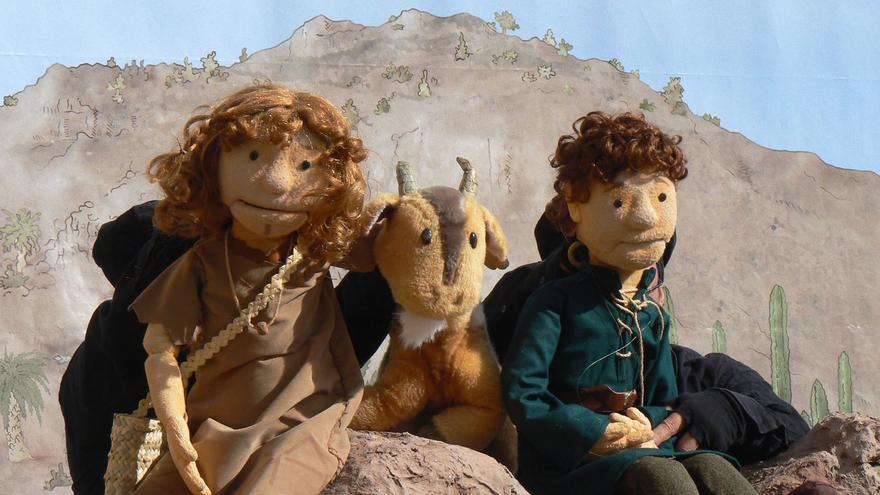 Cueva Pintada invita a la representación gratuita del espectáculo de títeres 'El tesoro del Mocán'.