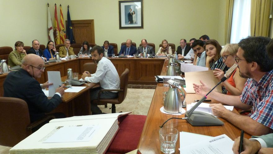 Primer Pleno de esta legislatura en la Diputación de Teruel