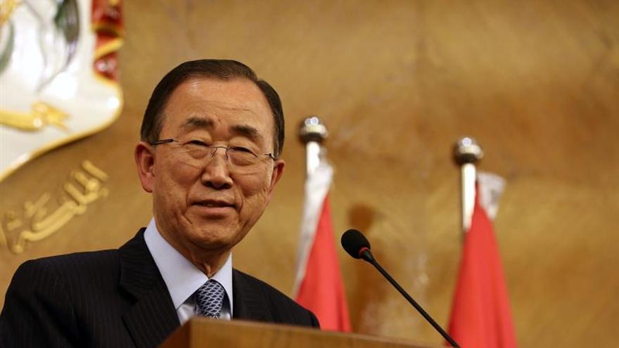El secretario general saliente de la ONU, Ban Ki-moon