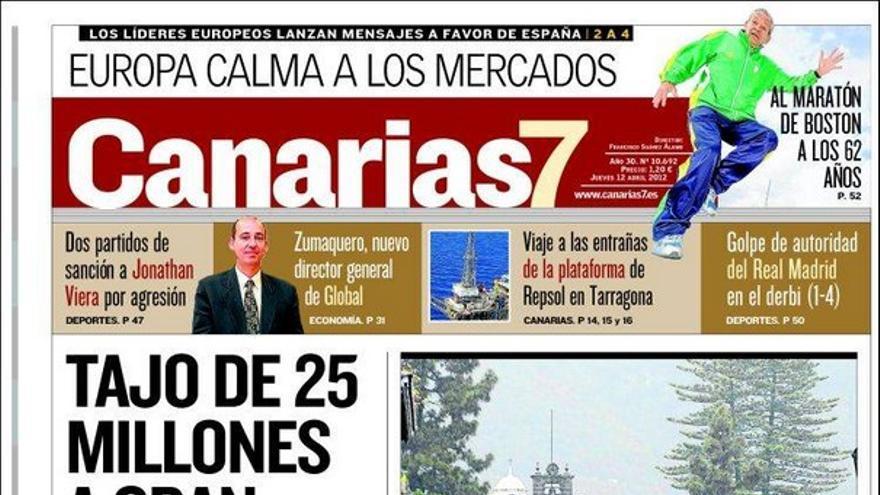 De las portadas del día (12/04/2012) #2