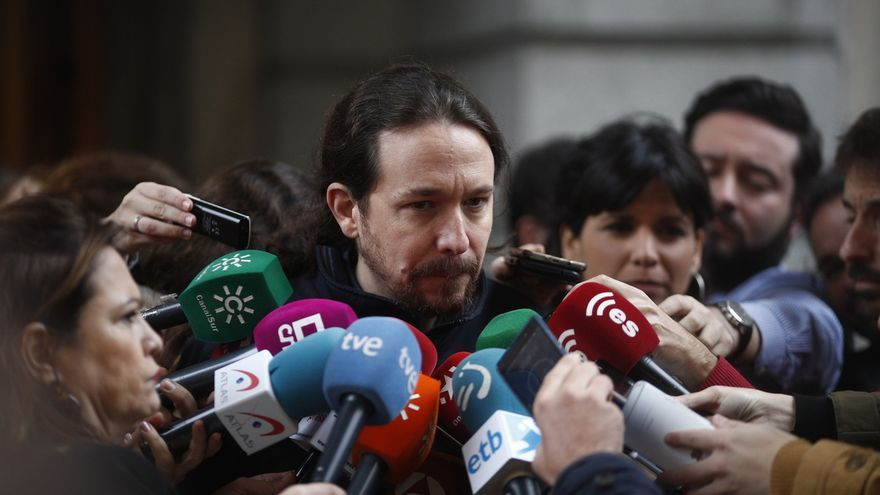 """Pablo Iglesias reconoce que las elecciones generales están """"más cerca"""": """"Hay que asumir la realidad"""""""