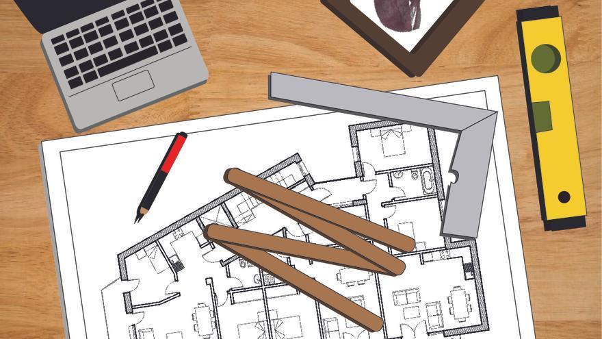 Ilustración del arquitecto Leonardo Rucabado. | EDGAR MIRONES FERNÁNDEZ