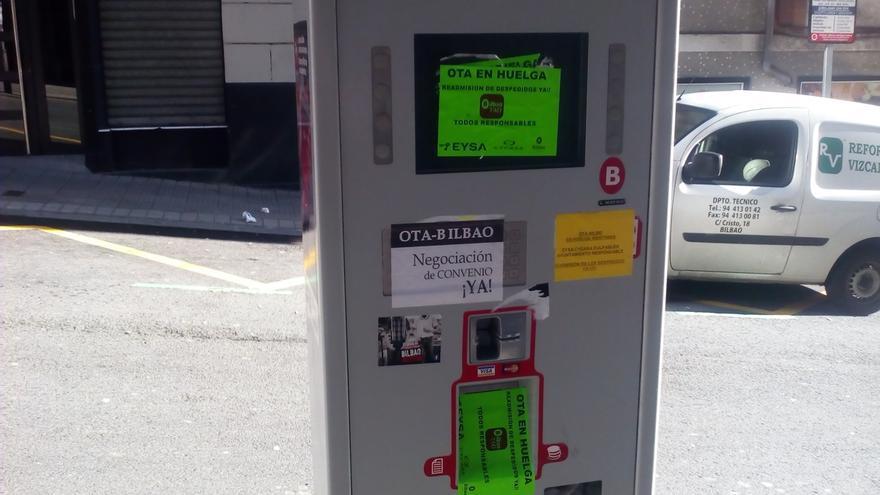 La concesionaria de la OTA en Bilbao eleva a más de 300.000 euros el coste del destrozo de parquímetros