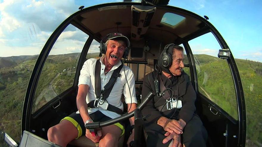 Jesús Calleja en Volando Voy