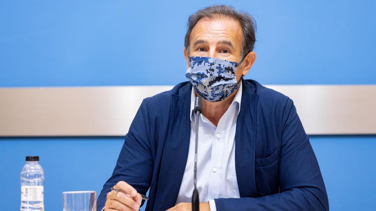 Ángel Lorén, consejero de Acción Social y Familia.