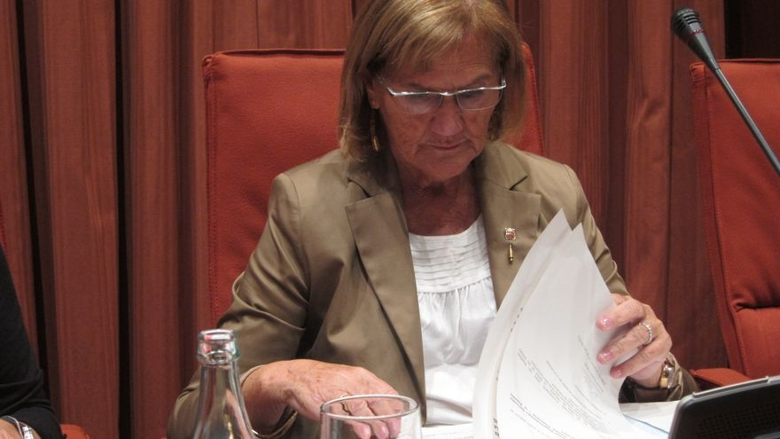 """La presidenta del Parlamento catalán afirma que esta jornada es """"aún más histórica"""" que la de años anteriores"""