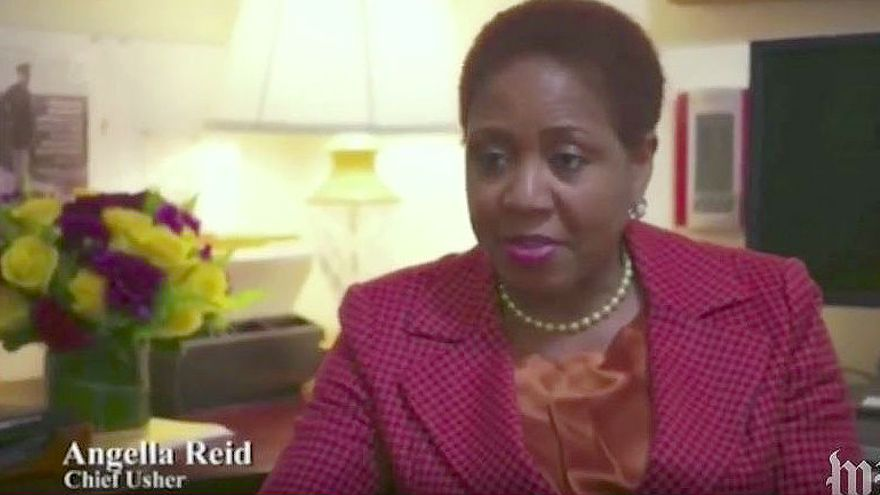 Angella Reid en una imagen de archivo capturada durante una entrevista / YouTube