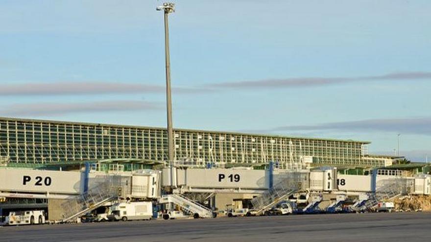Aeropuerto de Fuerteventura. FOTO: Aena.