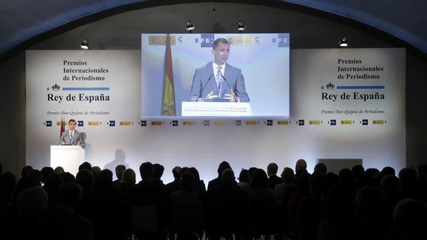Convocada la XXXIV edición de los Premios de Periodismo Rey de España