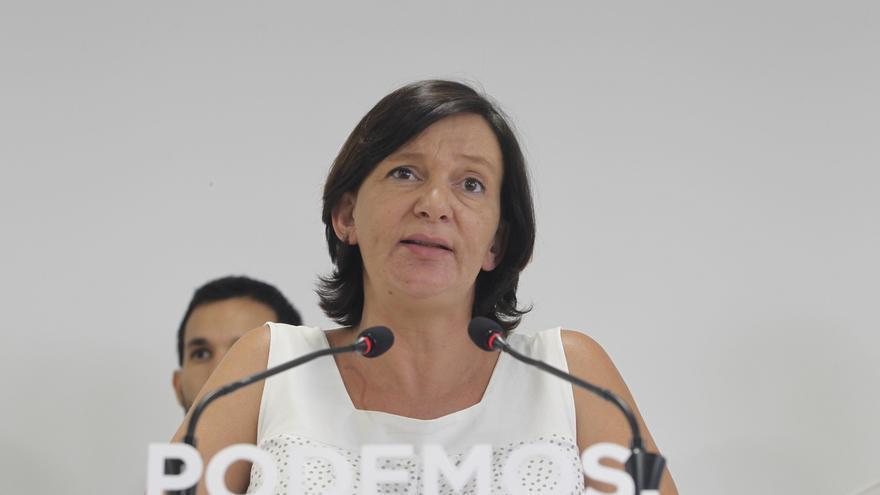 """Bescansa reconoce que la lista de Pablo Iglesias parte como """"favorita"""" en las primarias y defienden su """"pluralidad"""""""